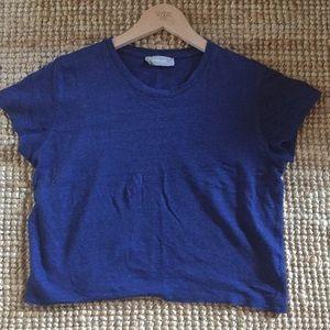 EVERLANE Linen boxy t shirt